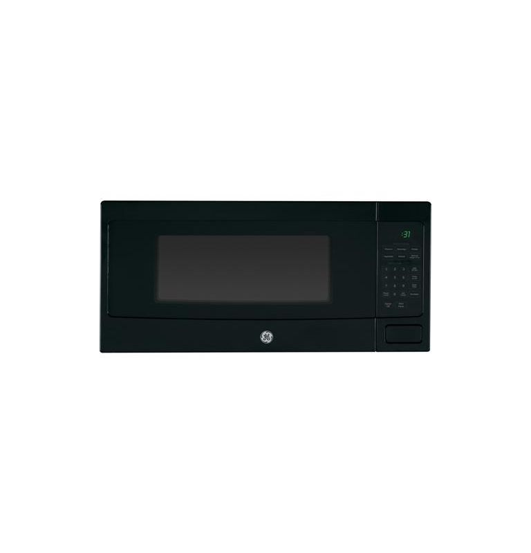 Ge Pem31 24 Inch Wide 1 Cu Ft Countertop Microwave Oven With Sensor Cooking