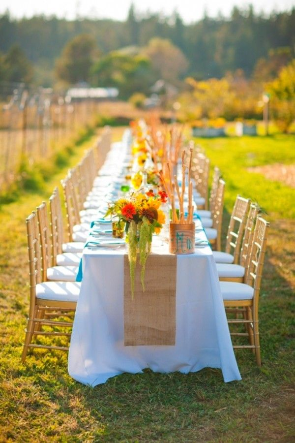 60th Birthday Dinner Party Fall Weddings Outdoor