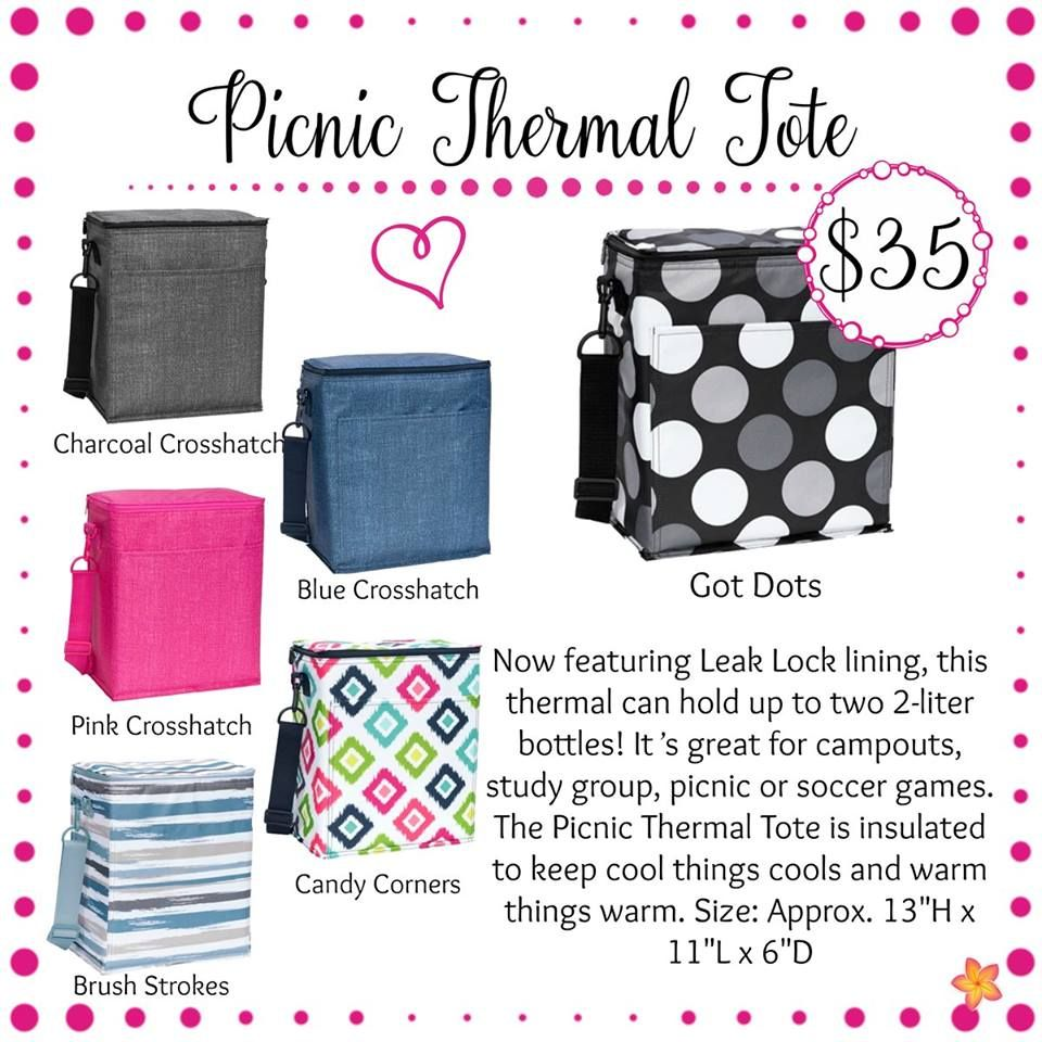 Oh snap bin ideas - Picnic Thermal Thirty One Gifts Spring Summer 2017