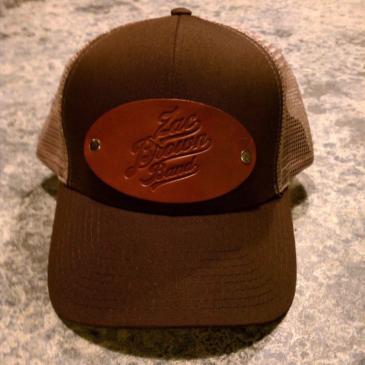 Zbb Brown Hat Zac Brown Band Brown Band Trucker Hat