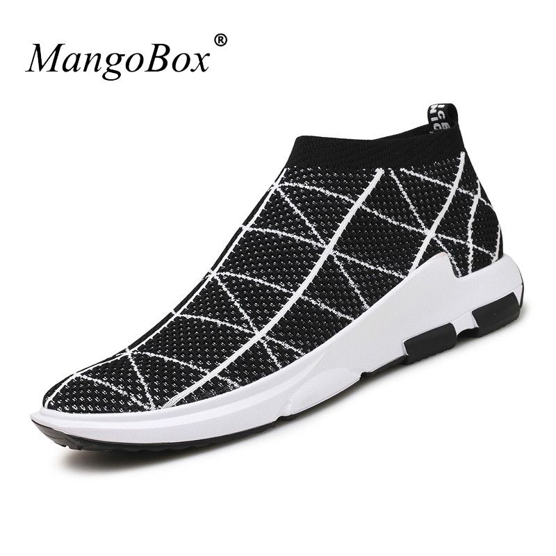 Mangobox New Brand Men Gym Shoes Slip On Mens Sports Shoes Breathable  Sports Shoes For Men Discount Men Running Trainers 63e177e92