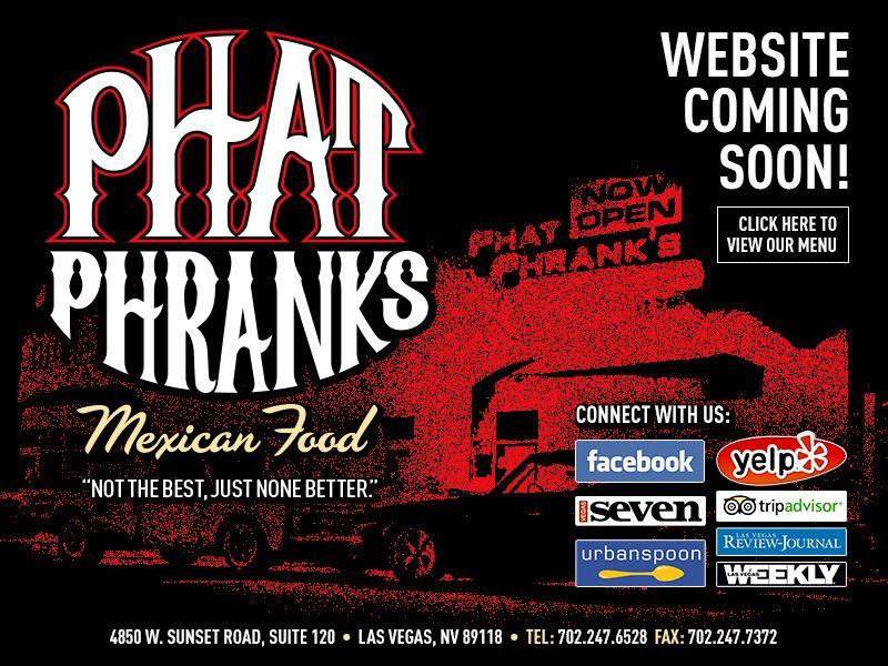 Phat Phrank S Website Coming Soon Vegas Baby Phat Website Coming Soon