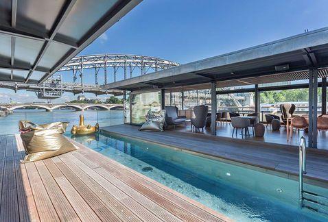 El primer hotel flotante en París - Grupo Milenio