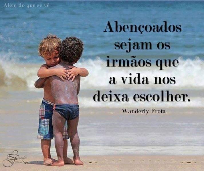 Amizade verdadeira!!!