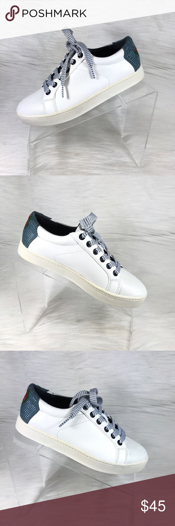 e45457654 Circus By Sam Edelman Leather Sneakers Size 6.5 Circus By Sam Edelman  Leather Sneakers White With Watermelon decor Size 6.5. In excellent  condition worn ...