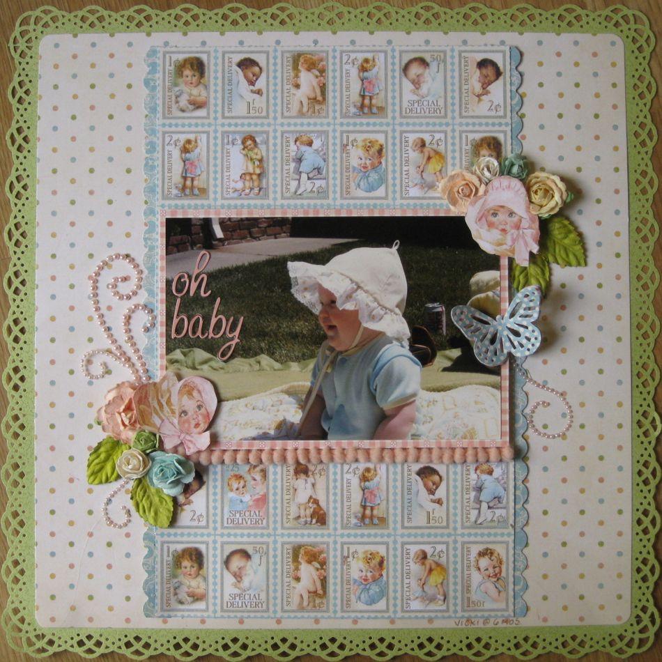 Baby scrapbook ideas on pinterest - Oh Baby Scrapbook Com