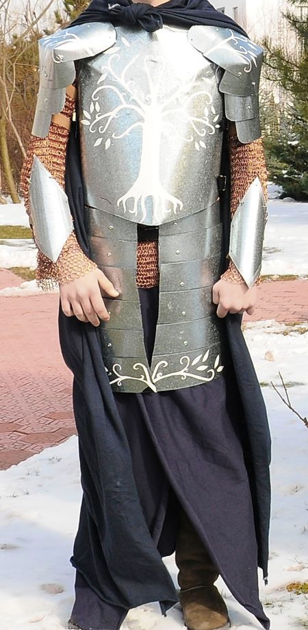 How to Make Build a Gondorian Suit of Armour From Authentic