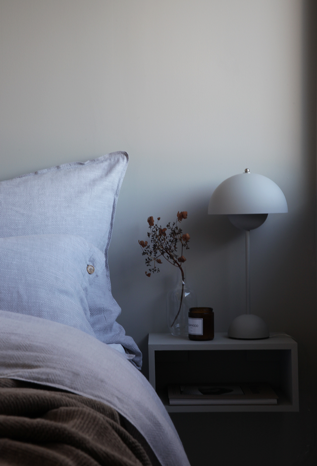 LUN HØST PÅ SOVEROMMET (ELISABETH HEIER) Bedroom color