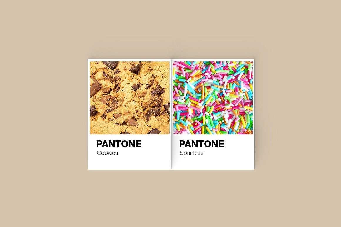 Pantone Color Cards Mockup Pantone Color Color Card Pantone