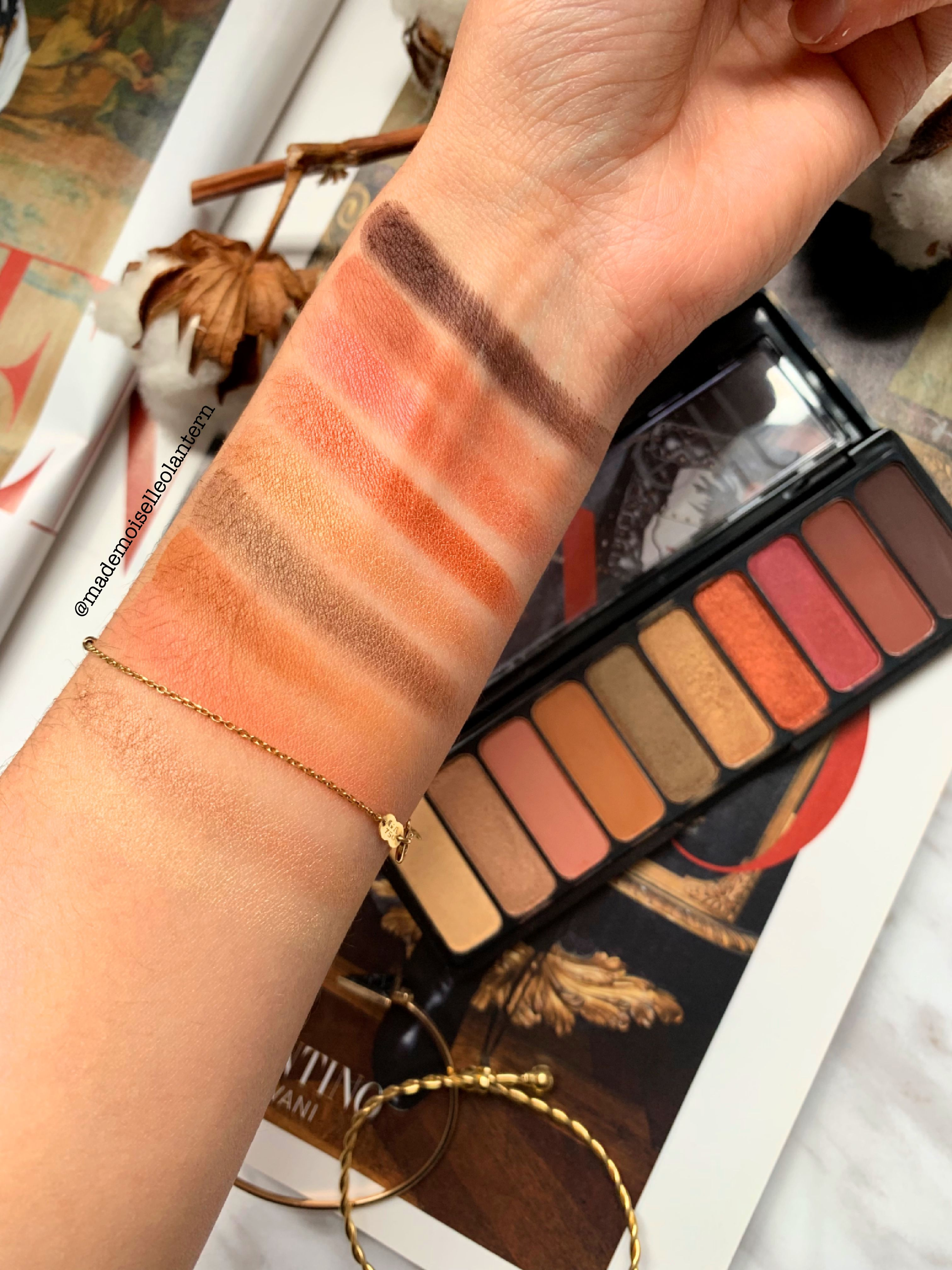 REVIEW // Rose Gold Sunset palette by ELF Sunset palette