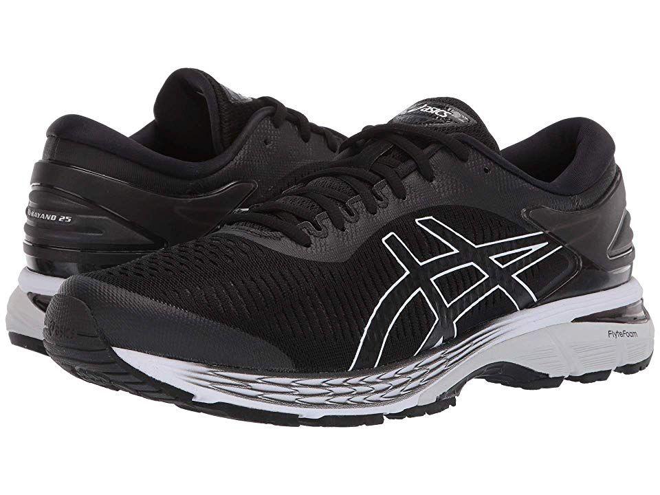 ASICS GEL-Kayano(r) 25 Men's Running Shoes Black/Glacier ...