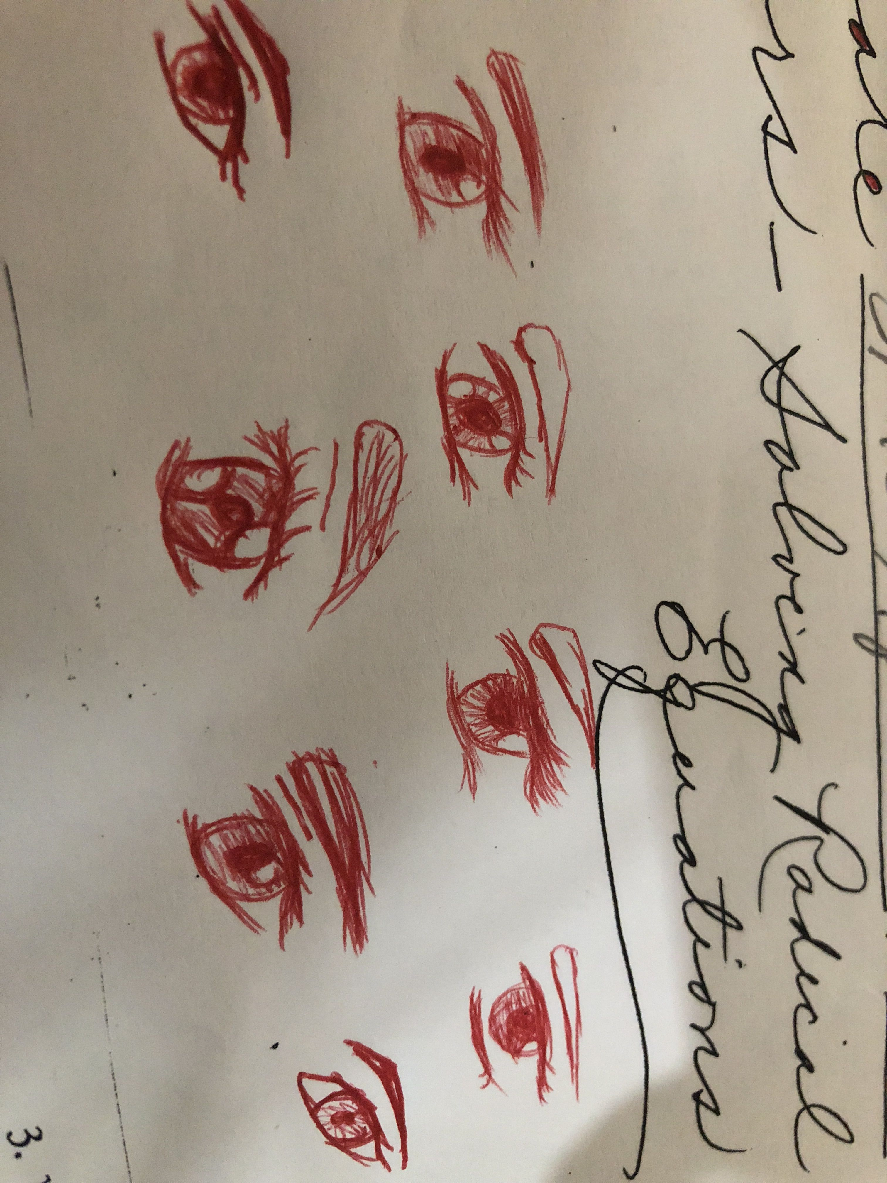 Which Eye Do You Like Best Lol I Did This On My Math