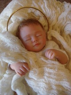Ooak Baby Jesus By Mayra Garza Dolls Made By Me Baby