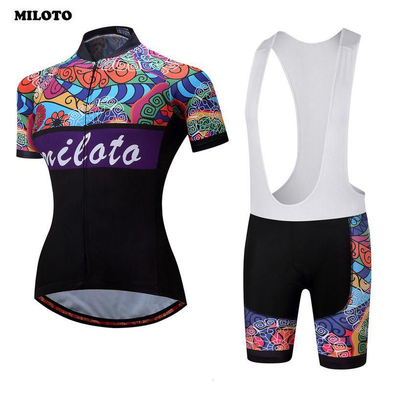 Miloto 2018 Team Breathable Ropa Ciclismo Cycling Sports Jerseys