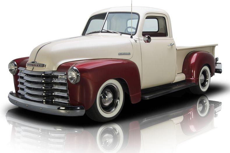 1949 Chevrolet 3100 Pickup Truck Maroon Chevy Trucks Classic