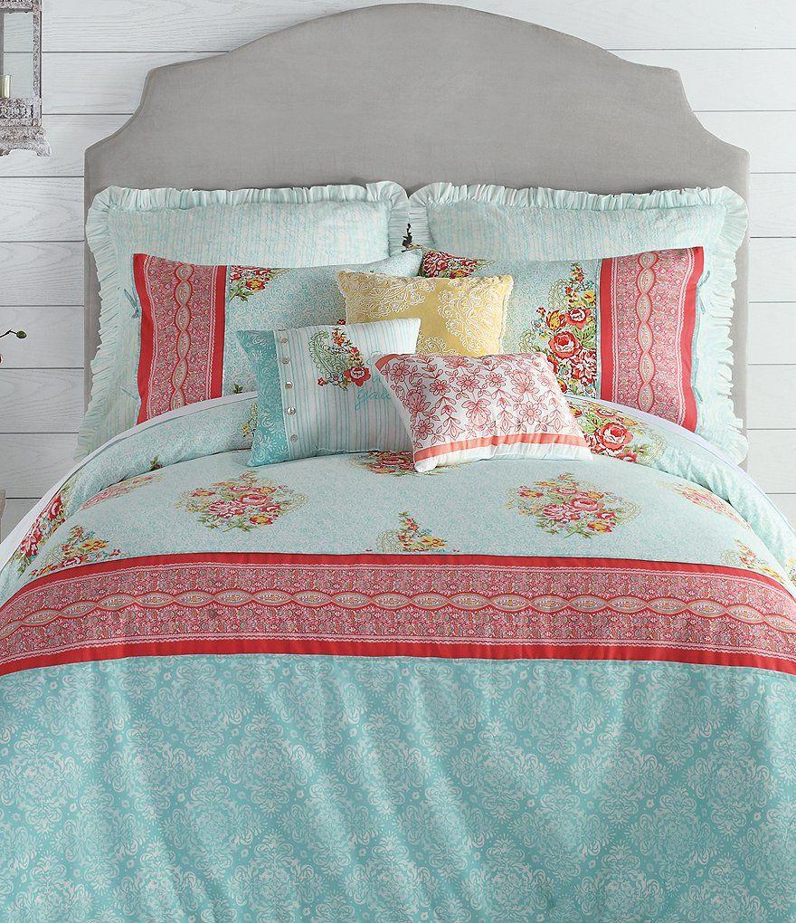 Ellie Floral Paisley Comforter Mini Set Jessica Simpson Bedding