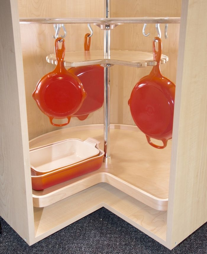 kitchen cabinet solutions introducing the not so lazy susan a new standard for corner on kitchen organization lazy susan cabinet id=97048