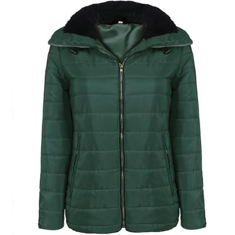 Women's Short Casual Goose Down Warm Winter Coat S-XL 3 Colors