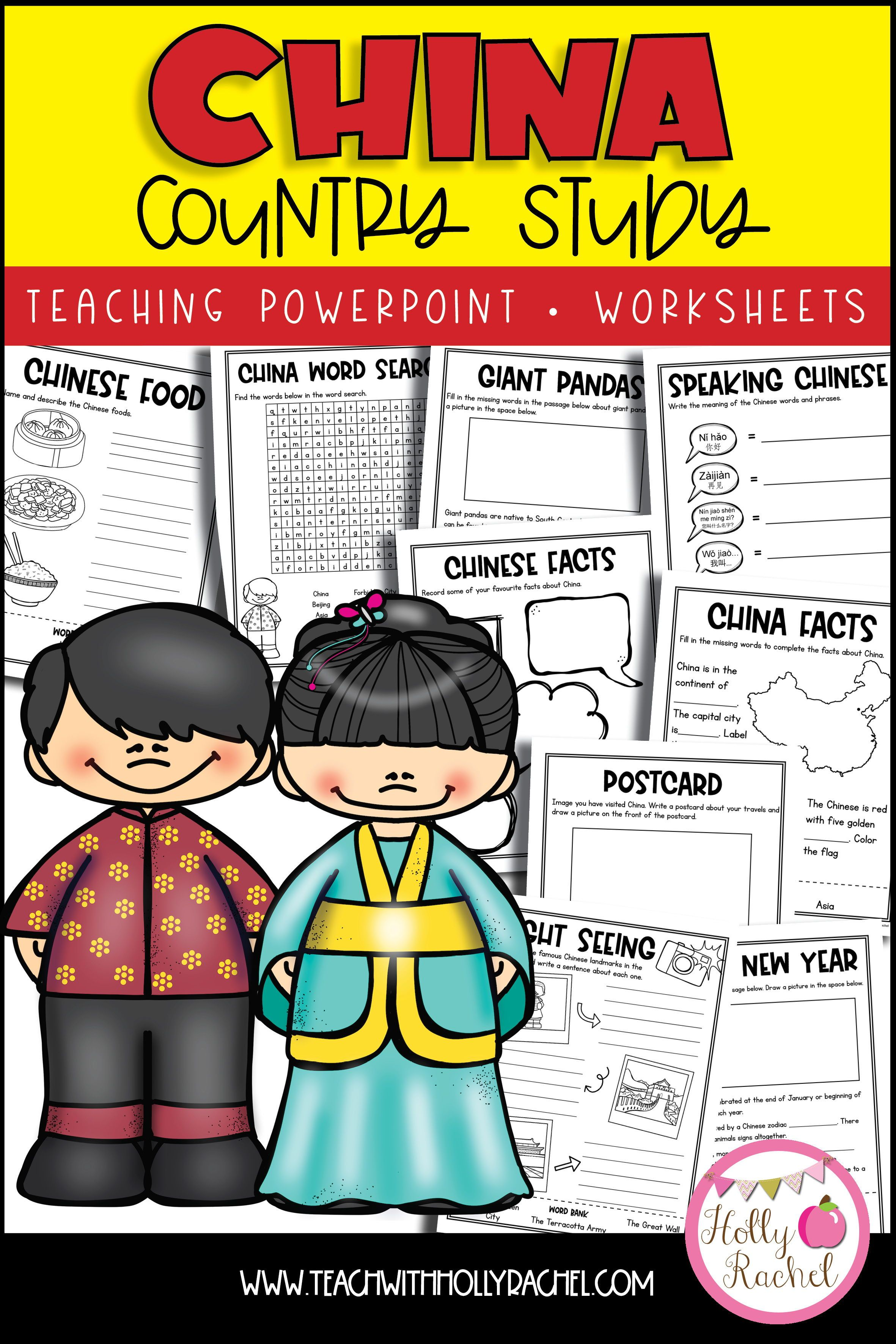 Your Student Will Love Learning All About China With This