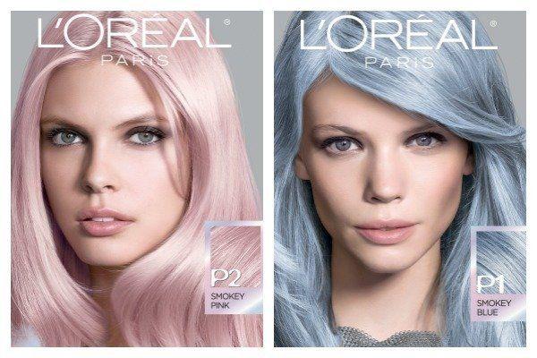Permanent Pastel Hair Color Feria Smokey Pastels
