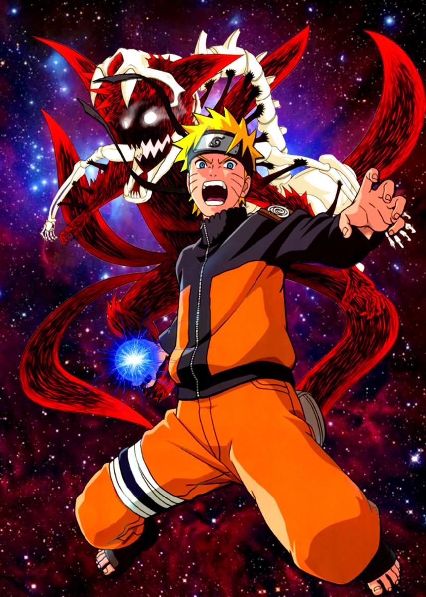 Uzumaki Naruto Comics Poster Print metal posters