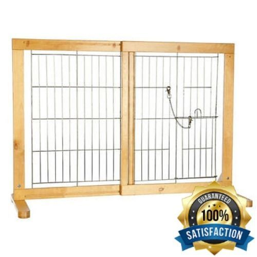 Pet Supplies For Dog Gates With Door For The House Freestanding Cat