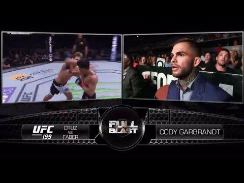 Ufc Ultimate Fighting Championship Ufc 207 Cody Garbrandt Full Blast Cruz Vs Faber 3 Ufc Cody Garbrandt Dominick Cruz