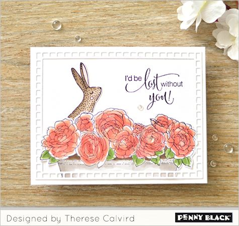 VIDEO! Gimme 5 with Therese Calvird   Penny black cards ...