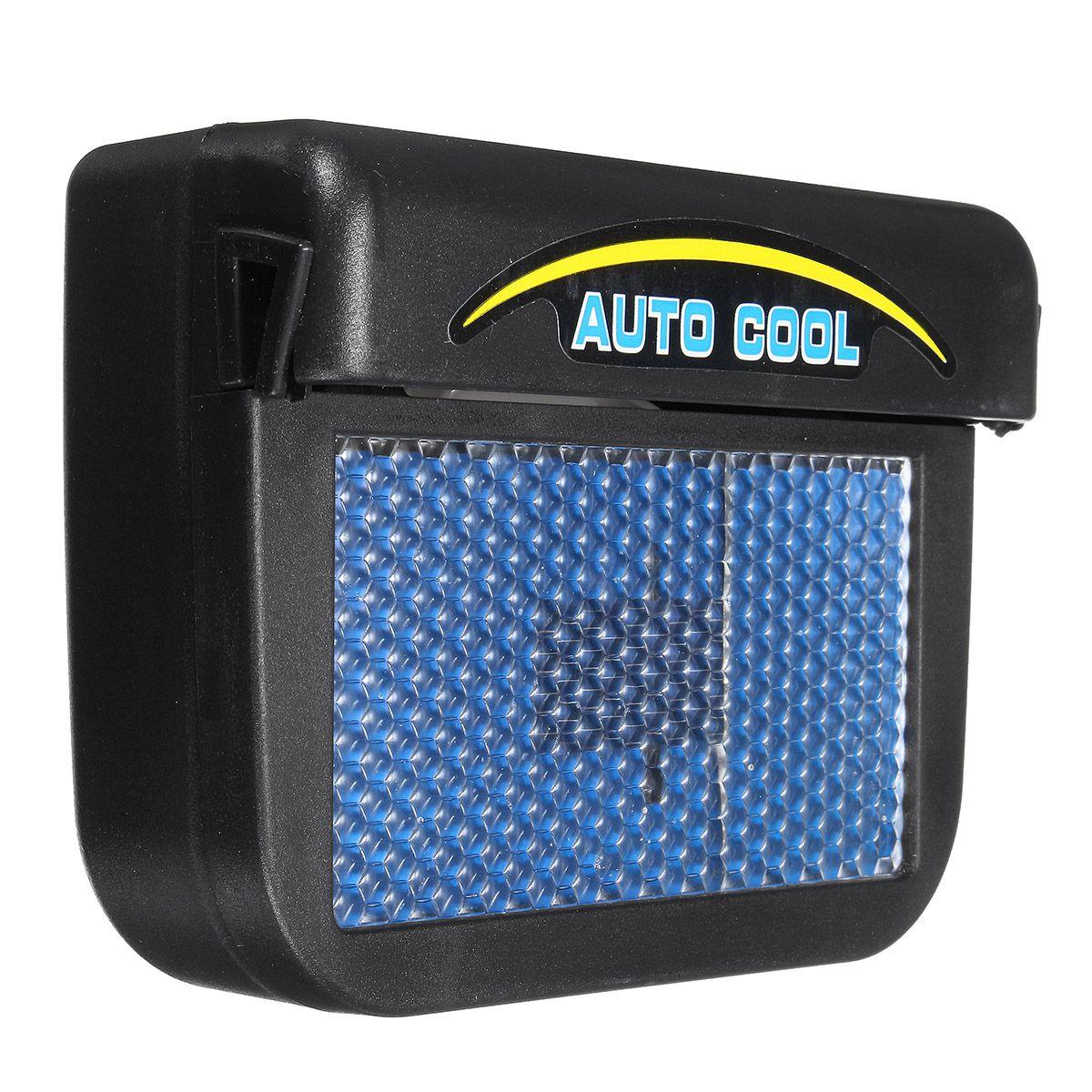 Solar Power Car Window Auto Air Vent Cool Fan Cooler
