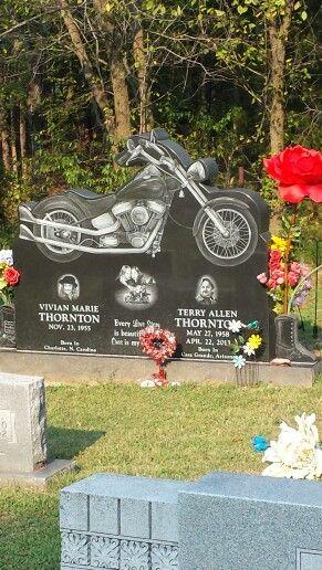 tombstone designs - motorbike | tombstones | Pinterest | Tombstone designs,  Cemetery and Unusual headstones