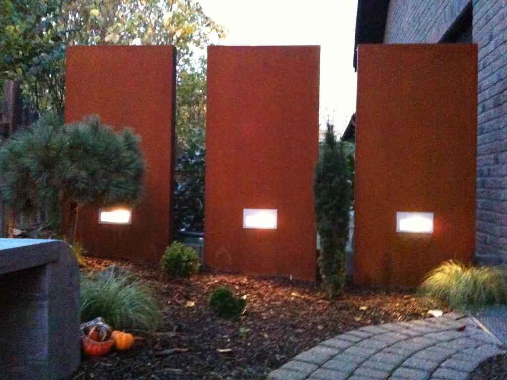 Gartengestaltung Mit Rost rost garten wir liefern auch stelen inkl hausnummern ideas for