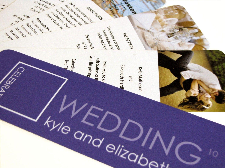 Unique Orange Swatch Book Wedding Invitation Sample. $8.00, via Etsy.