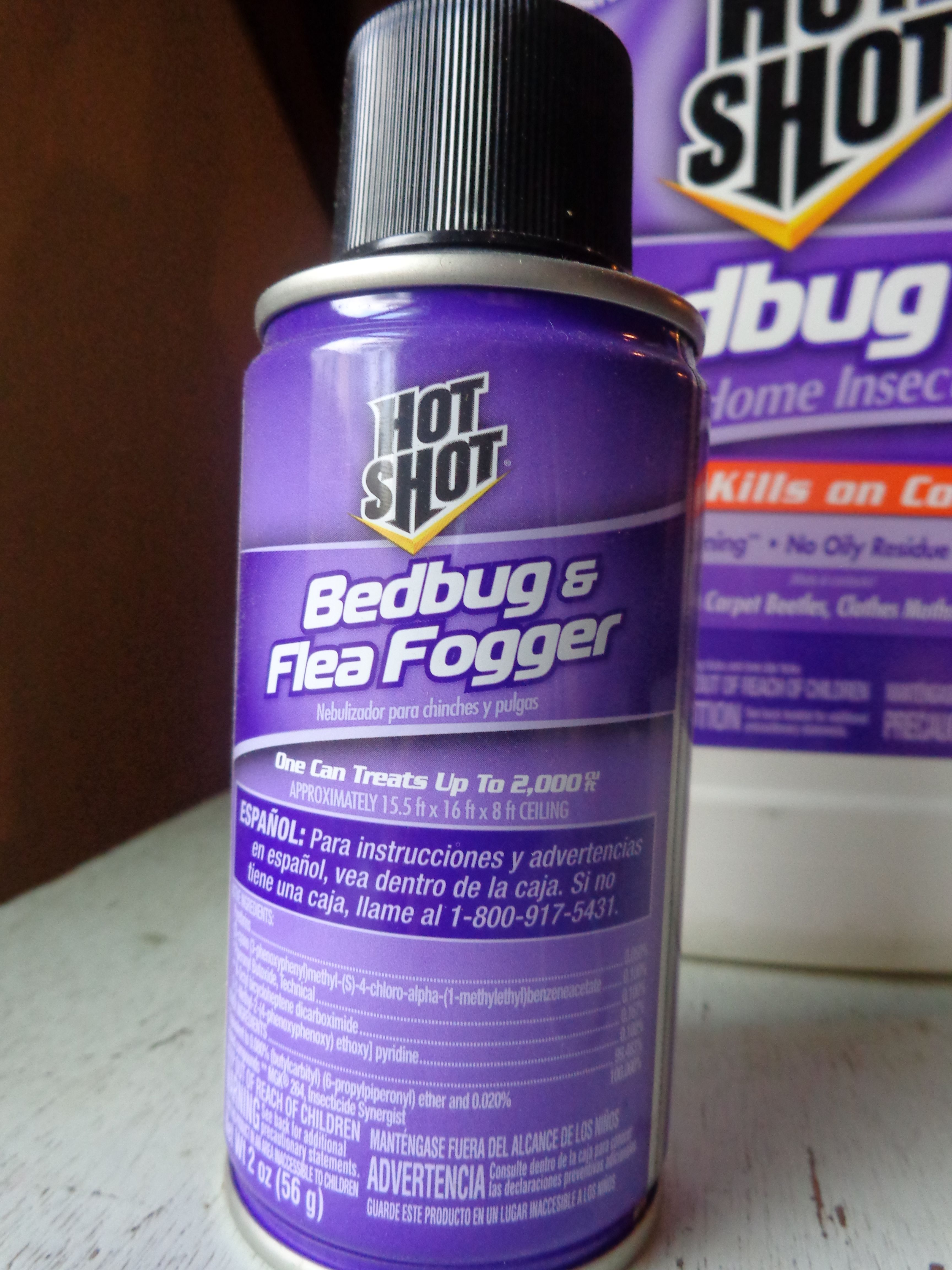 Hot Shot Bed Bug and Flea Fogger Customer Review Pest