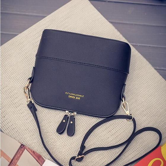 b35a005d1993 JIARUO Korean Retro Suede Bag Leather Women Small Shell Do Old ...