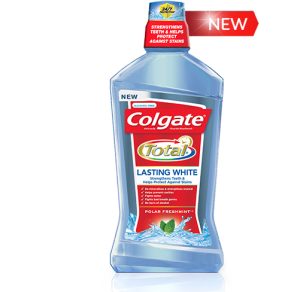 Colgate Lasting White Total Mouthwash