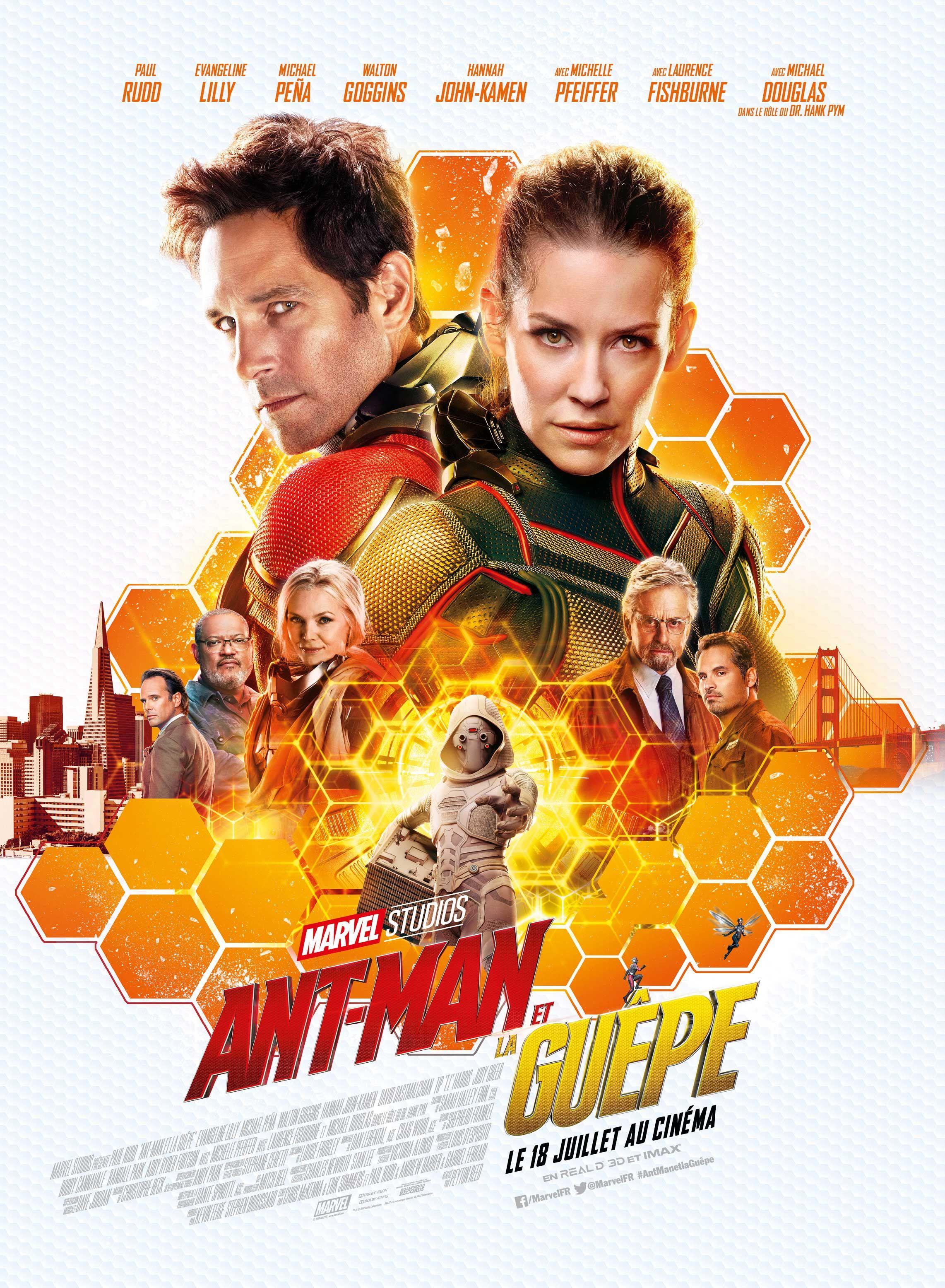 Critique : Ant-Man et la Guêpe Movie Tv, Hd Movies Online, 2018