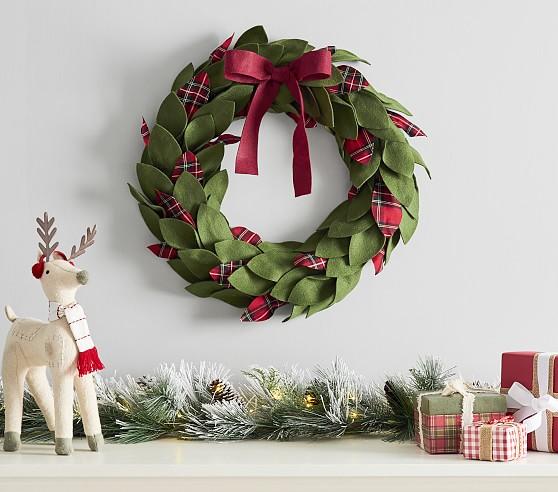 44++ Felt christmas wreath information