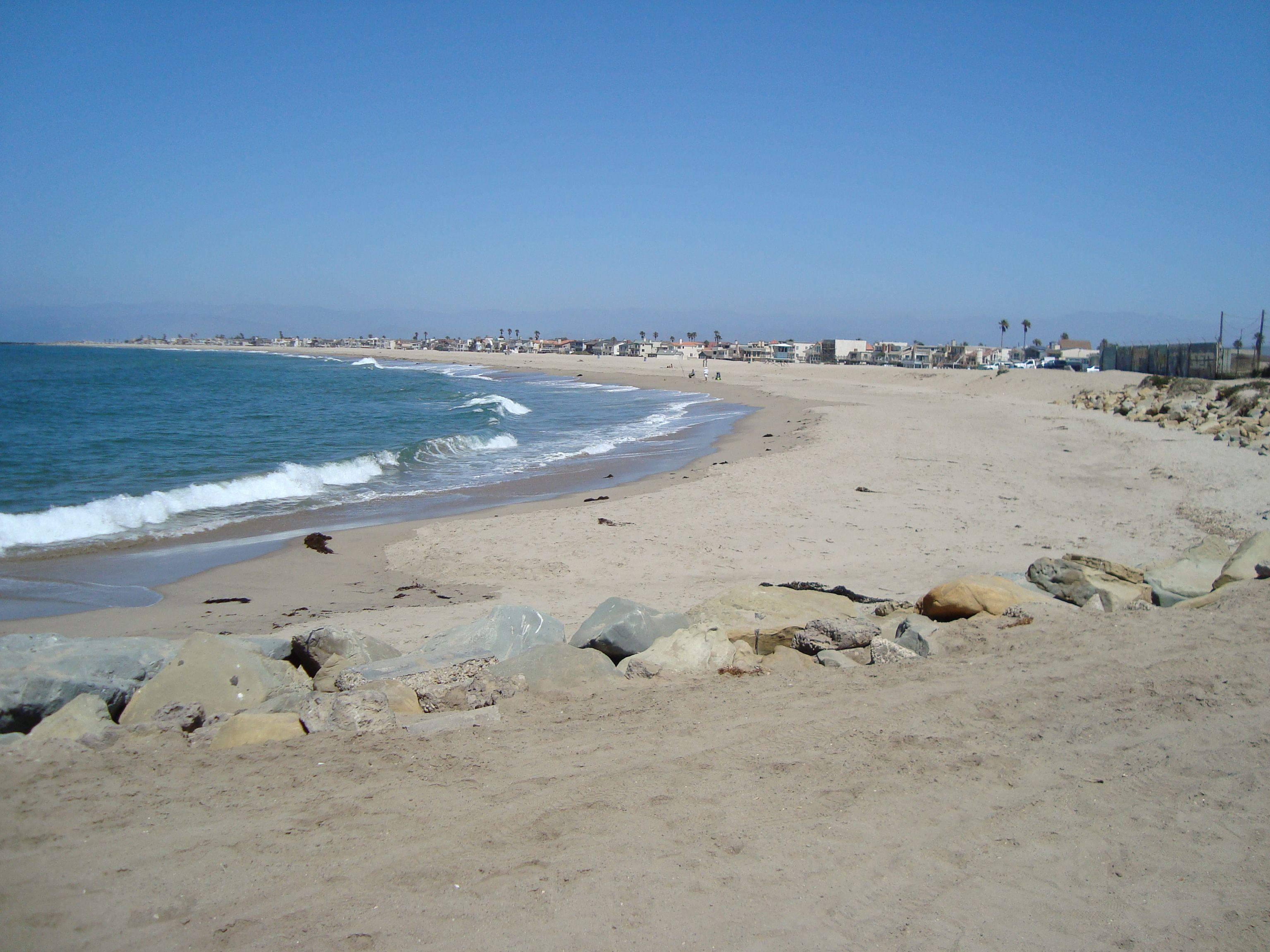 Oxnard Love Silver Strand Beach Ventura County California Places