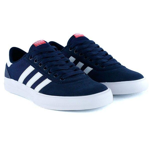 8a189d73966d6 ... Adidas Originals Lucas Premier ADV Navy Sneakers Adidas Skate Shoes NEW