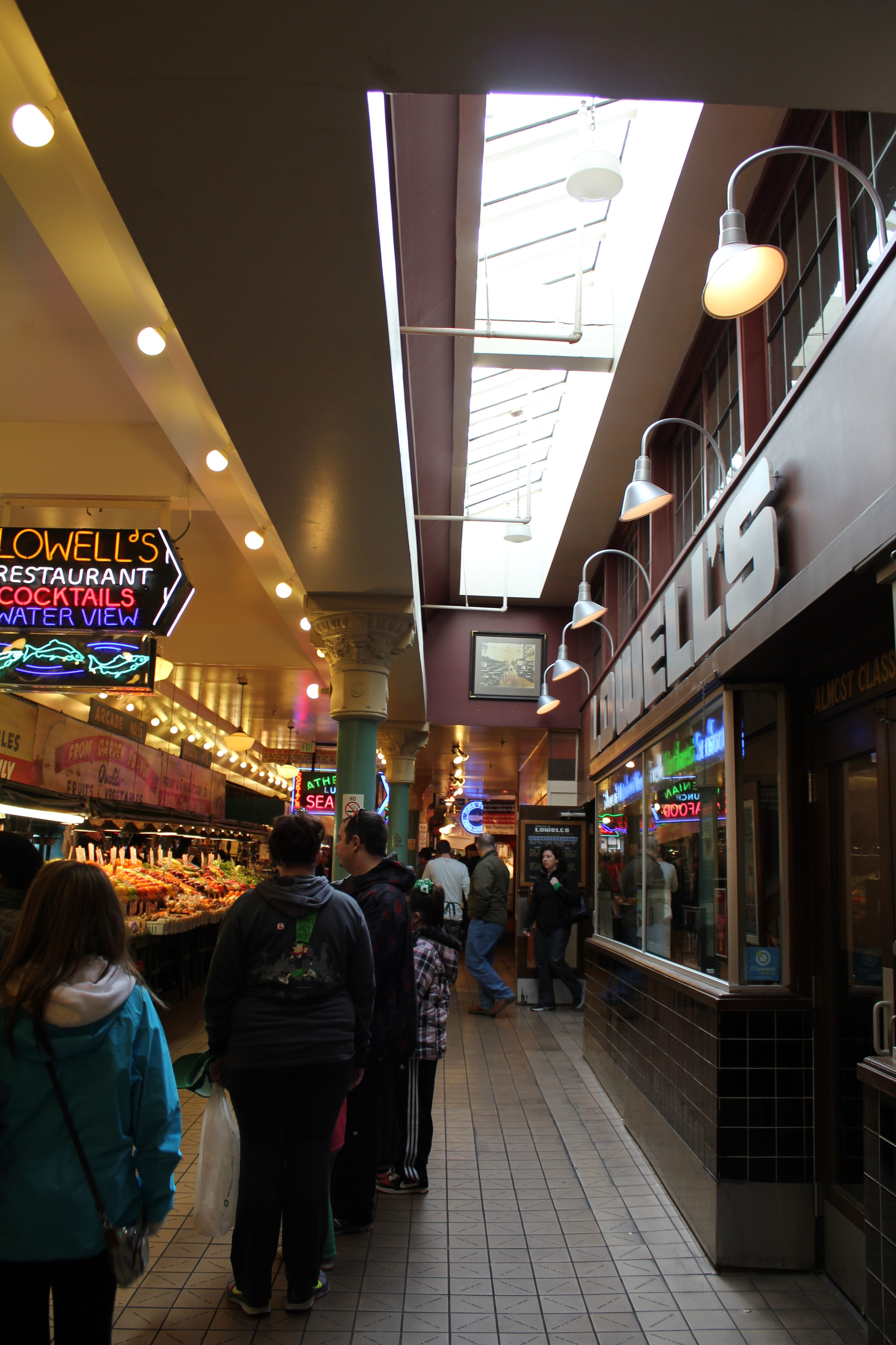 Lowellu0027s Pike Place Market Seattle WA