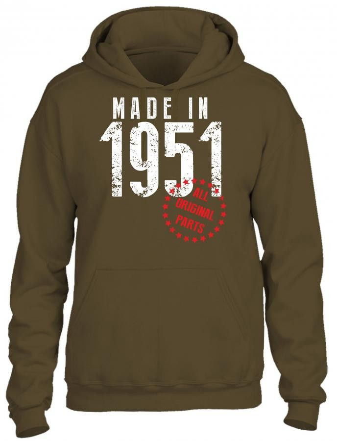 made in 1951 all original parts 1 HOODIE