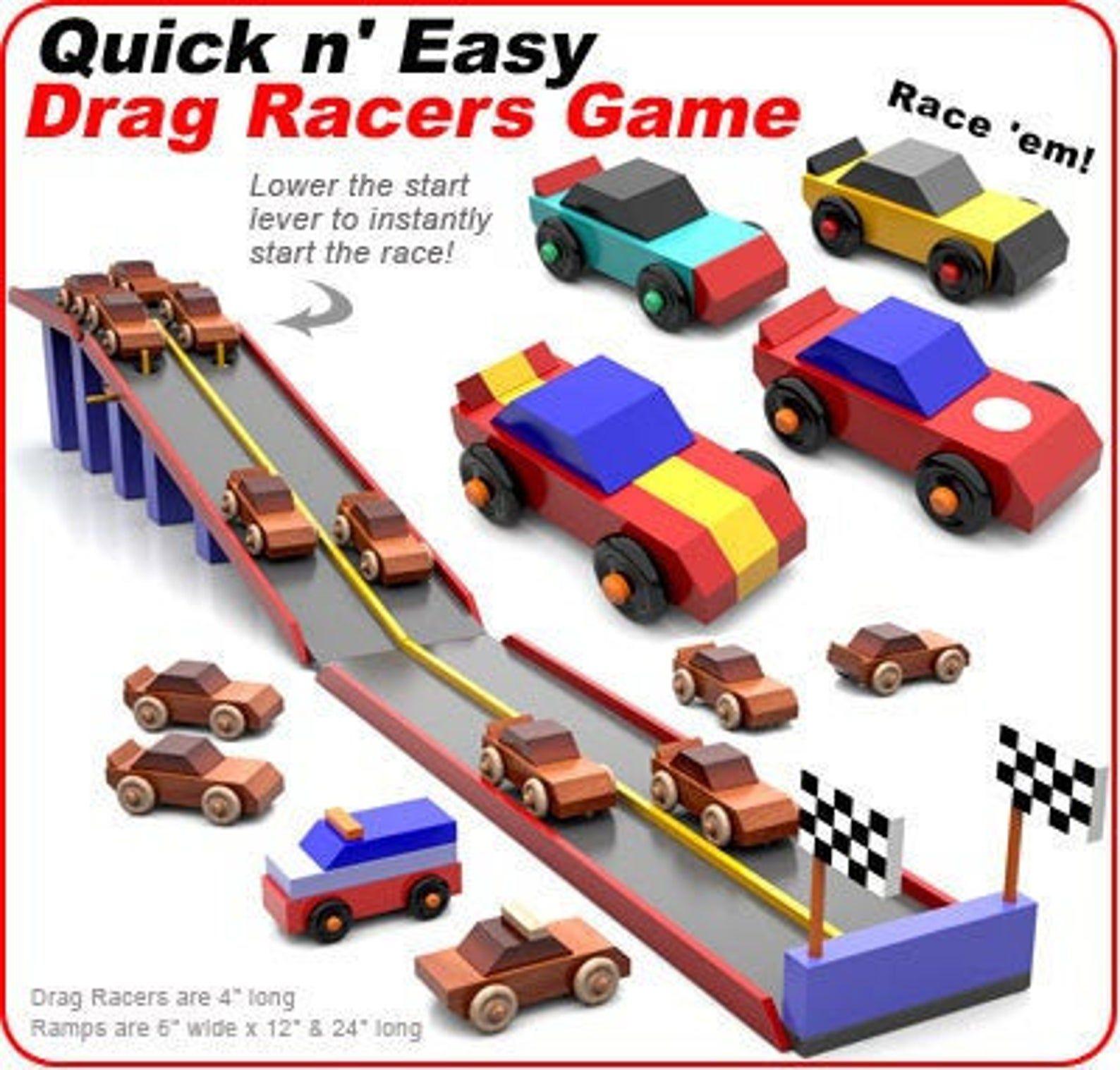 Quick n' Easy Drag Racers Game PDF Download Etsy in 2020