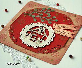 Papiernictvo - Vianočná pohľadnica Betlehem 2 - 3184848