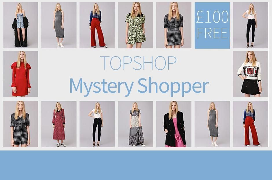 Receive £100 Free to be a Mystery Shopper! (FREE