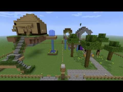 Minecraft Building Challenge - Ep 3 - Floating Mansions - http://www.thehowto.info/minecraft-building-challenge-ep-3-floating-mansions/