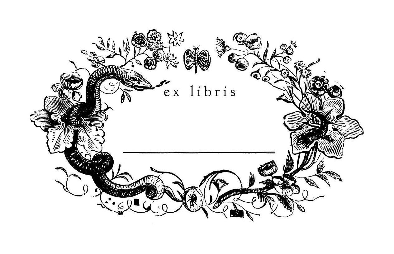 Großartig Kostenlose Druckbare Exlibris Vorlagen Zeitgenössisch ...