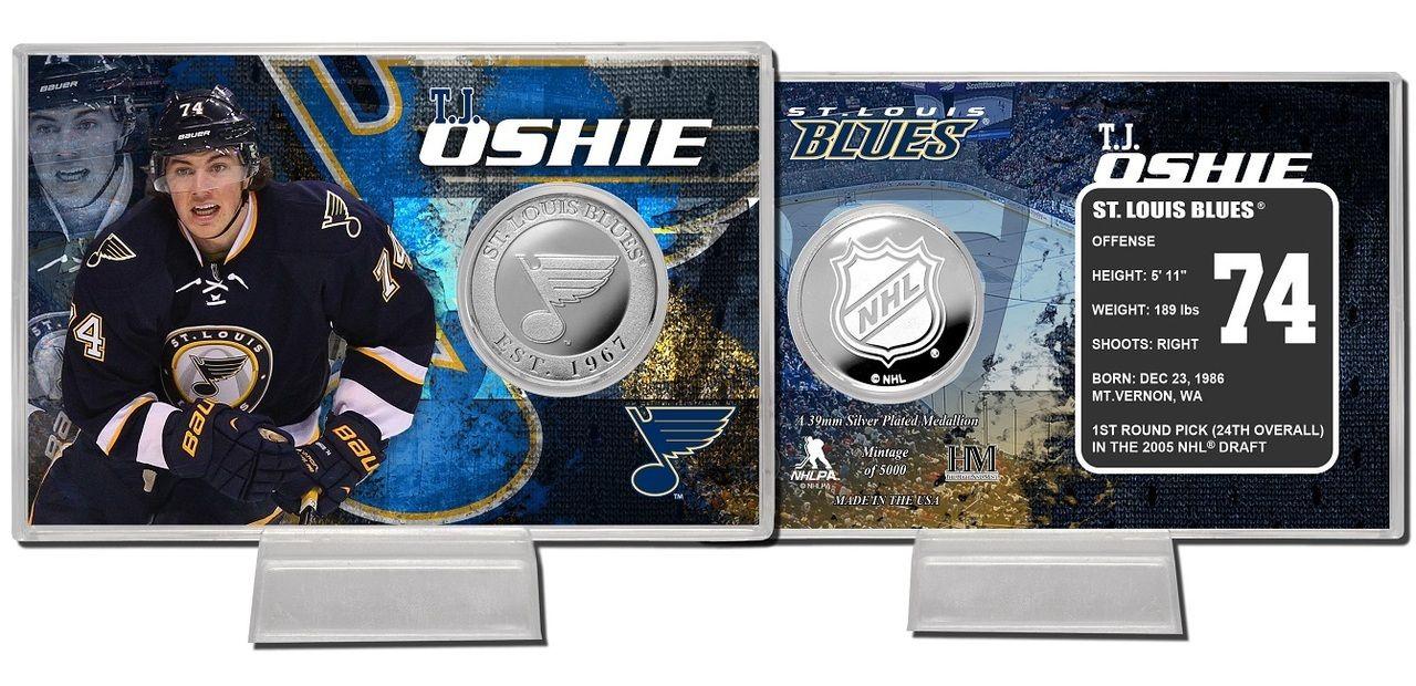 AAA Sports Memorabilia LLC St. Louis Blues T.J. Oshie