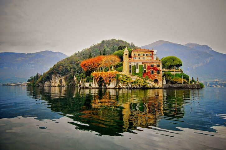 Villa del Balbianello - Como Lake - Italy.