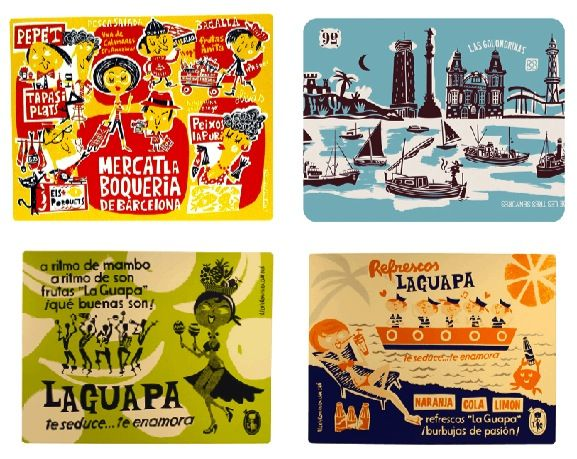Frame Cute Placemats For Kitchen Art. (These Are From The Fab Barcelona  Home Store
