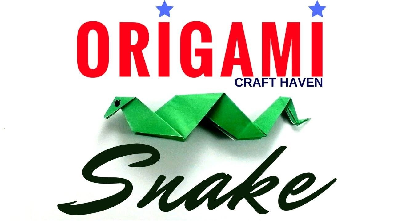 How to make origami snake easy origami snake tutorial paper how to make origami snake easy origami snake tutorial paper snake fun and simple jeuxipadfo Image collections